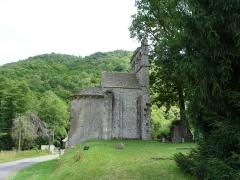Chapelle de Glény - Français:   La chapelle de Glény, Servières-le-Château, Corrèze, France.