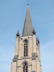 Cathédrale Saint-Martin, actuellement Notre-Dame et cloître, actuellement Musée municipal£ -  Cathédrale Notre-Dame de Tulle.XIIéme siècle.Le clocher.