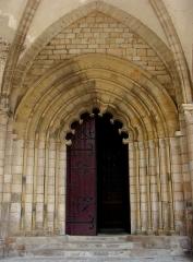 Cathédrale Saint-Martin, actuellement Notre-Dame et cloître, actuellement Musée municipal£ -  Cathédrale Notre-Dame de Tulle.XIIéme siècle.Le portail polylobé.