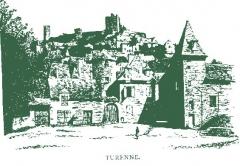 Vestiges du château - English: Castle of Turenne