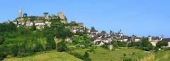 Vestiges du château -  Corrèze - Turenne