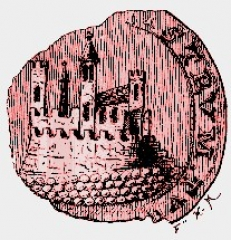 Vestiges du château - English: Seal (device) Turenne