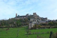 Vestiges du château -  turenne