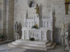 Eglise Saint-Pierre - Intérieur de l'église abbatiale Saint-Pierre de Vigeois, Corrèze, France