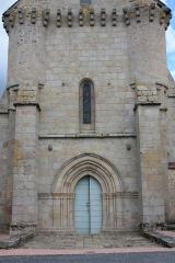 Eglise de l'Assomption de la Vierge - Français:   Ajain - Eglise de l\'Assomption