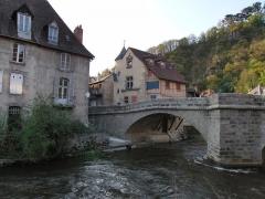 Pont sur la Terrade - English: Aubusson Pont de la Terrade