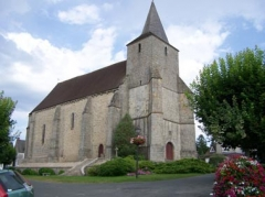 Eglise Saint-Georges - English: Church of Azerables