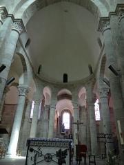 Eglise Saint-Barthélémy - Français:   Bénévent-l\'Abbaye - Église Saint-Barthélémy - Chœur, sanctuaire