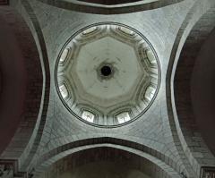 Eglise Saint-Barthélémy - Français:   Bénévent-l\'Abbaye - Église Saint-Barthélémy - Tour et coupole de la croisée du transept