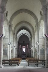 Eglise Saint-Barthélémy - Deutsch: Abteikirche Saint-Barthélémy in Bénévent-l'Abbaye im Département Creuse (Nouvelle-Aquitaine/Frankreich), Innenraum