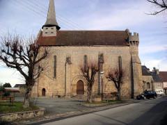 Eglise Saint-Sylvain -  Bonnat Church, Creuse, France