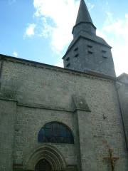 Eglise Saint-Barthélémy - English: Chenerailles church