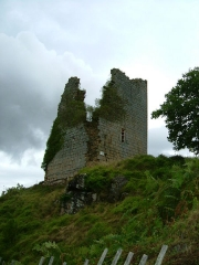 Château de Crozant - English: Crozant castle 1