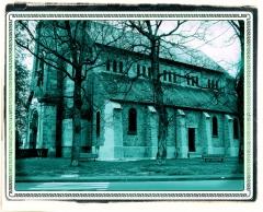 Ancienne église -  Dun-Le-Palestel (Creuse, France), église.