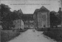 Château d'Arfeuille - Français:   Château d\'Arfeuille