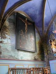 Eglise Sainte-Valérie, dite église du Moutier - Français:   Felletin - Église Sainte-Valérie - Chapelle des Lissiers - Peintures
