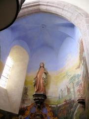 Eglise Sainte-Valérie, dite église du Moutier - Français:   Felletin - Église Sainte-Valérie - Transept gauche - Absidiole