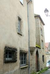 Maison dite du Bailli - Français:   Felletin - Maison du Bailli rue Terrefume