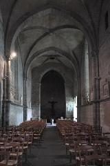 Eglise de l'Assomption-de-la-Très-Sainte-Vierge - Deutsch: Katholische Kirche l'Assomption-de-la-Très-Sainte-Vierge in Le Grand-Bourg im Département Creuse (Nouvelle-Aquitaine/Frankreich), Innenraum