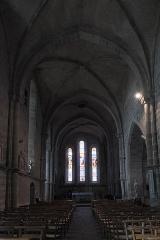 Eglise de l'Assomption-de-la-Très-Sainte-Vierge - Deutsch:   Katholische Kirche l\'Assomption-de-la-Très-Sainte-Vierge in Le Grand-Bourg im Département Creuse (Nouvelle-Aquitaine/Frankreich), Innenraum
