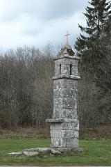 Fanal Funéraire - Deutsch: Totenleuchte (Lanterne des morts) in Saint-Goussaud im Département Creuse (Nouvelle-Aquitaine/Frankreich)