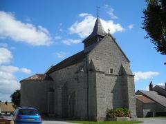 Eglise Saint-Médard -  st medard la rochette église 54515