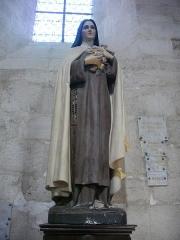 Eglise Notre-Dame - Église Notre-Dame de La Souterraine (Creuse, France), sainte Thérèse de l'Enfant Jésus