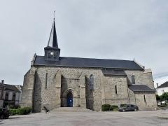 Eglise Saint-Martin - Français:   L\'église de Vallière, Creuse, France.