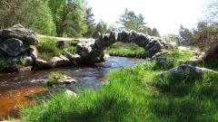 Pont de Sénoueix - English: Pont du Thaurion near Senoueix in Creuse, France