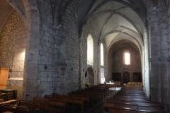 Eglise Saint-Léger - Français:   La nef - Eglise St Léger de Bessines-sur-Gartempe