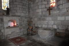 Eglise Saint-Léger - Français:   Les fonds baptismaux - Eglise St Léger de Bessines-sur-Gartempe