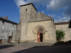Eglise paroissiale Saint-Saturnin - Français:   Église Saint-Saturnin de Chaillac-sur-Vienne