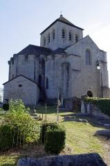 Eglise de l'Assomption de la Très-Sainte-Vierge - Deutsch: Le Chalard, Haute-Vienne, Frankreich - Kirche und Friedhof