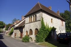 Maison dite des Anglais - Deutsch: Le Chalard, Haute-Vienne, Frankreich - Haus aus dem 12. Jh genannt maison des Anglais