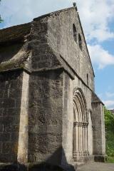 Eglise de la Nativité de la Sainte-Vierge et de Saint-Antoine de Padoue - Deutsch: Kirche Nativité-de la-Vierge in Cheissoux im Département Haute-Vienne in der Region Limousin (Frankreich)