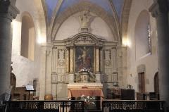 Eglise de l'Ordination de Saint-Martin - Deutsch: Katholische Kirche Saint-Martin-de-Tours in Eyjeauxim Département Haute-Vienne (Nouvelle-Aquitaine/Frankreich), Innenraum