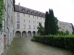 Ancien couvent des Ursulines ou ancien collège -  Eymoutiers, Haute-Vienne, Limousin,  France