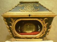 Eglise de l'Assomption de la Très-Sainte-Vierge -  Flavignac, trésor de l'église, châsse de Saint-Fortunat