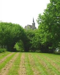 Eglise de l'Assomption de la Très-Sainte-Vierge -  Flavignac, vue de l'église