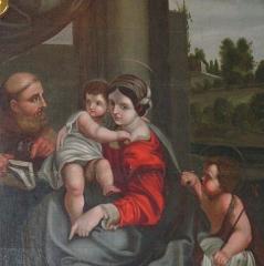 Eglise de l'Assomption de la Très-Sainte-Vierge -  Tableau dit
