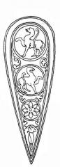 Ancienne abbaye Saint-Martial - Русский: Иллюстрация из