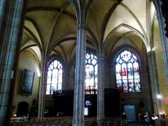 Eglise Saint-Michel-des-Lions -  Haute-Vienne Limoges Eglise Saint-Michel des Lions Bas Cote 28052012