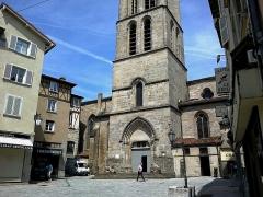 Eglise Saint-Michel-des-Lions -  Haute-Vienne Limoges Eglise Saint-Michel des Lions Clocher Les Lions 28052012