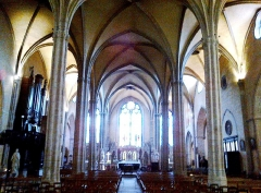 Eglise Saint-Michel-des-Lions -  Haute-Vienne Limoges Eglise Saint-Michel des Lions Nef 28052012