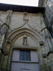 Eglise Saint-Michel-des-Lions -  Haute-Vienne Limoges Eglise Saint-Michel des Lions Porte Nord 28052012