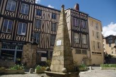 Fontaine des Barres - Français:   La fontaine des Barres (1615), à Limoges (Haute-Vienne)