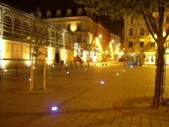 Halles centrales -  Place de la Motte, Limoges, Haute-Vienne, France
