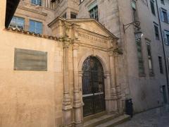 Ancien hôtel Maledent de Savignac de Feytiat, actuellement siège de la DRAC du Limousin (direction régionale des affaires culturelles) et de l'Office national des anciens combattants de la Haute-Vienne -  Hôtel Maledent de Savignac de Feytiat de Limoges / Limoges - Haute-Vienne - France