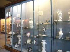 Musée national Adrien Dubouché et Ecole des Arts Décoratifs - Vitrines du musée Adrien Dubouché de Limoges (Haute-Vienne, France)