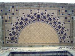 Ancien pavillon frigorifique, dit pavillon du Verdurier -  Détail du pavillon du Verdurier